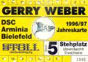 Jahreskarte 96/97