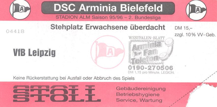 Arminia - Leipzig